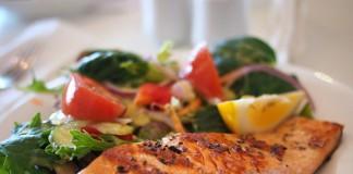 Блюдо из лосося