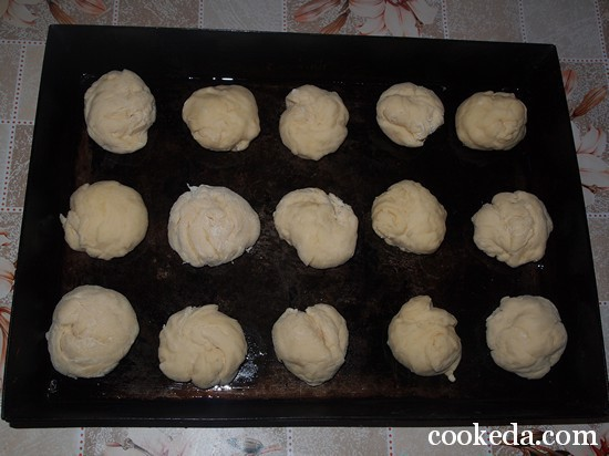 Чесночные булочки пампушки фото-08