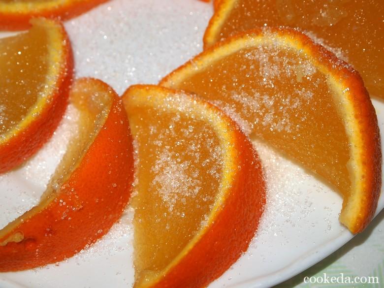 Как сделать желе из апельсина