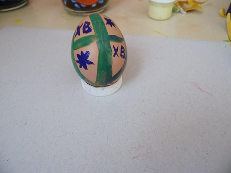 Как разукрасить яйца на Пасху фото-09