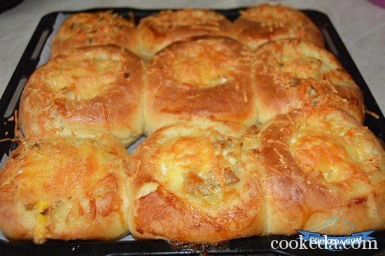 Оригинальные закусочные булочки