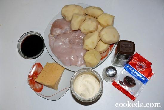 Мясо картофелем горшочках фото-02
