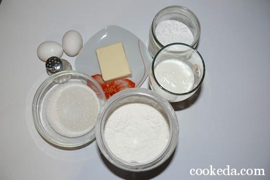 Сладкие кексы кефире фото-02