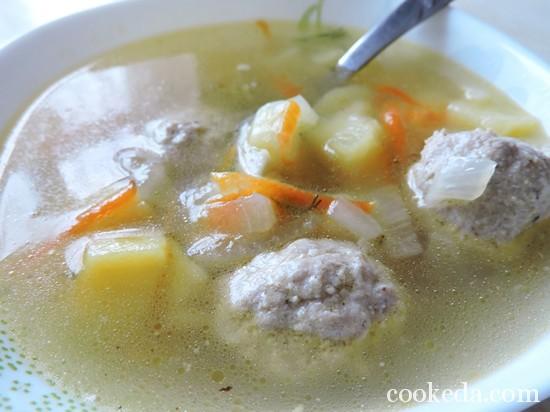 суп с фрикадельками-10