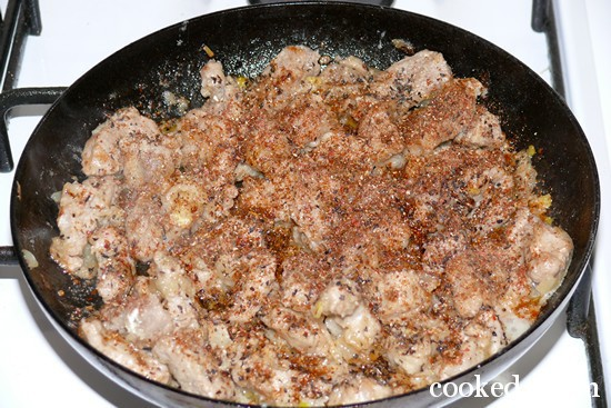 Свинина сметанном соусе фото-08