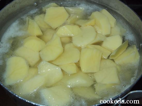 Вареники с картофелем -04