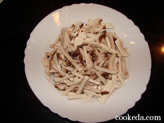 Жульен грибами фото-02