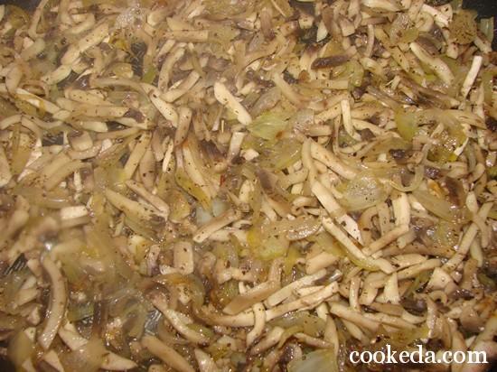 Жульен грибами фото-05