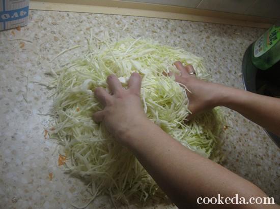 Квашеная капуста рецепт фото-04