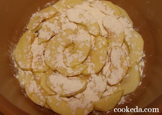 Пирог на кефире фото-07