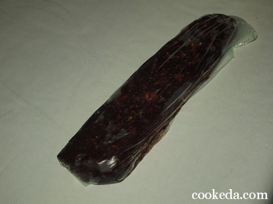 шоколадные колбаски фото-08