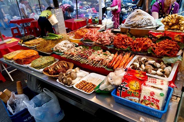 Рынок Намдэмун, Сеул, Корея