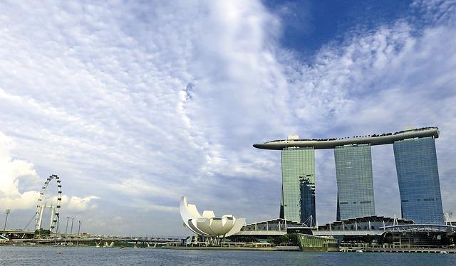 Сингапур. Марина Бэй Сэндс