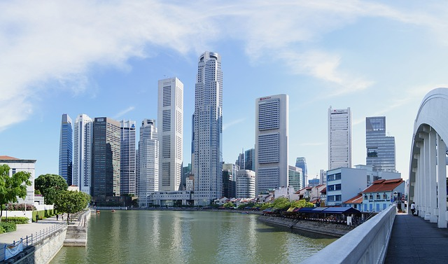 Сингапур. Небоскребы
