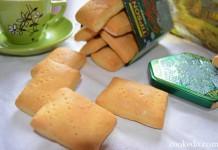 Печенье воздушное из пшеничной муки