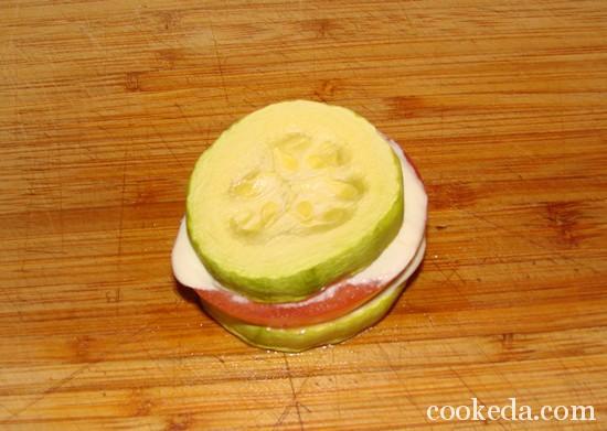 закуска из кабачков фото-13