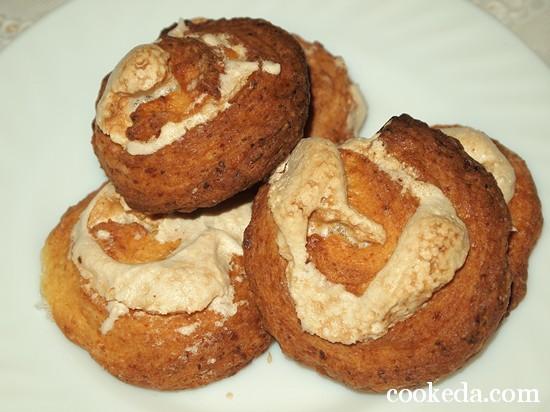 Творожное печенье с безе фото-18