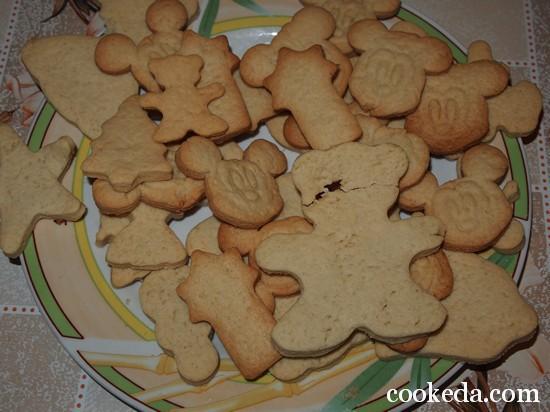 имбирное печенье фото-09