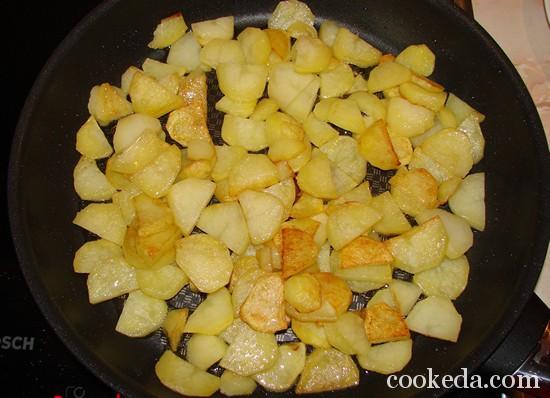 Ленивая запеканка из картофеля под сыром фото-09