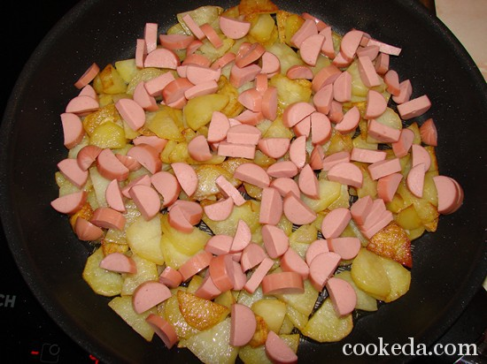 Ленивая запеканка из картофеля под сыром фото-10