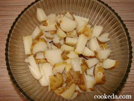 Картофельный салат фото-05