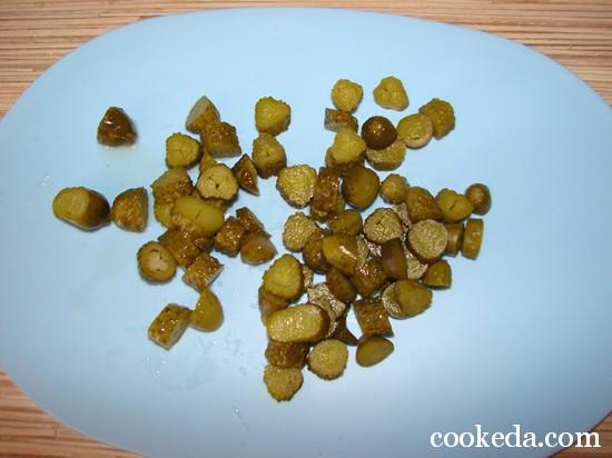 Картофельный салат фото-08