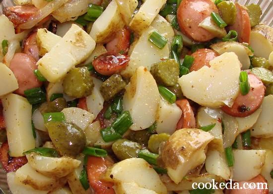 Картофельный салат фото-12