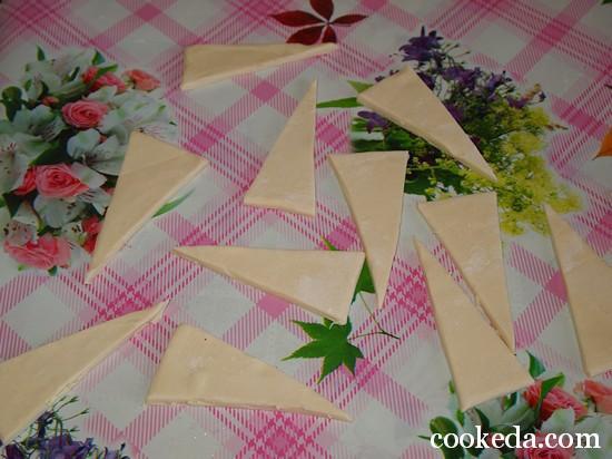 Слоеные круассаны с шоколадом фото-03