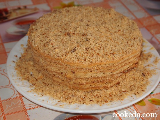 торт медовик фото-19