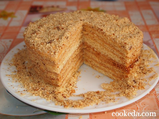 торт медовик фото-21