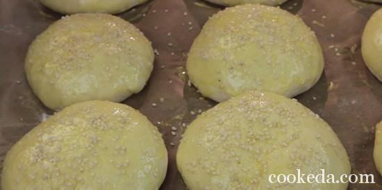 Рецепт булочек для бургеров фото-12