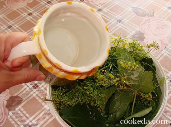 Рецепт малосольных огурцов фото-07