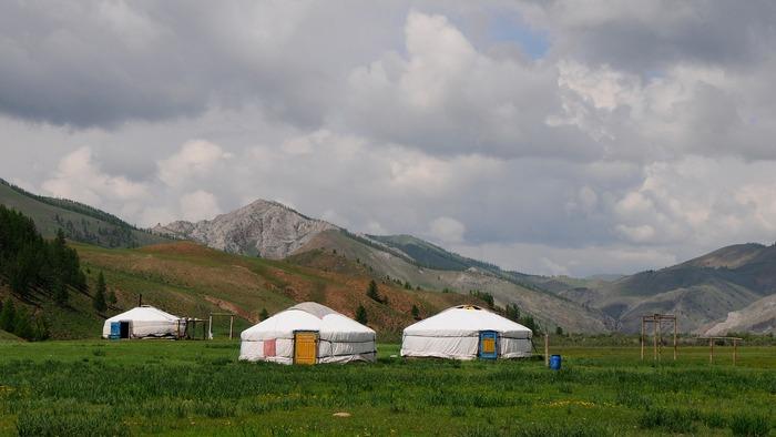 Монгольский пейзаж