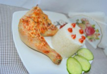 Курица в духовке под сыром - пошаговый рецепт