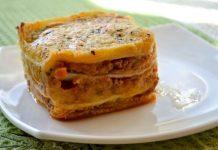 Порционная лазанья - рецепт с фото