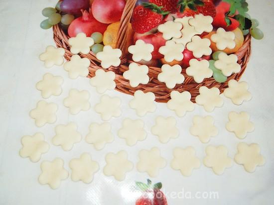 Слоеный пирог с клубникой фото-13