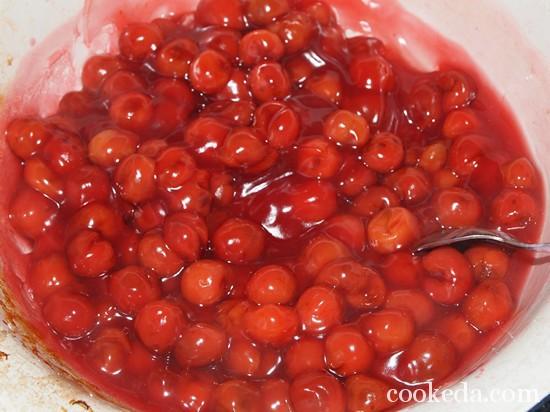 Рецепт вишневого торта фото-18