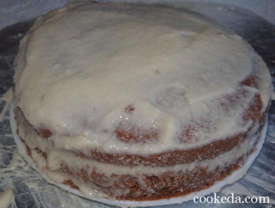 Рецепт вишневого торта фото-25