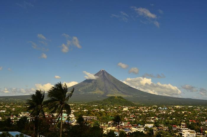 Вулкан Майон. Филиппины