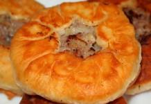 Беляши с мясом - пошаговый рецепт с фото