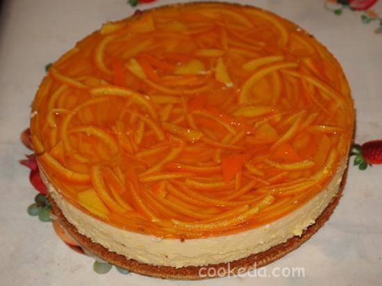 Апельсиновый торт фото-34