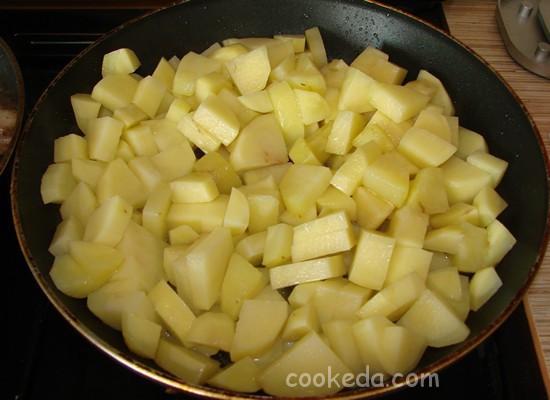 Подберезовики с картошкой-07