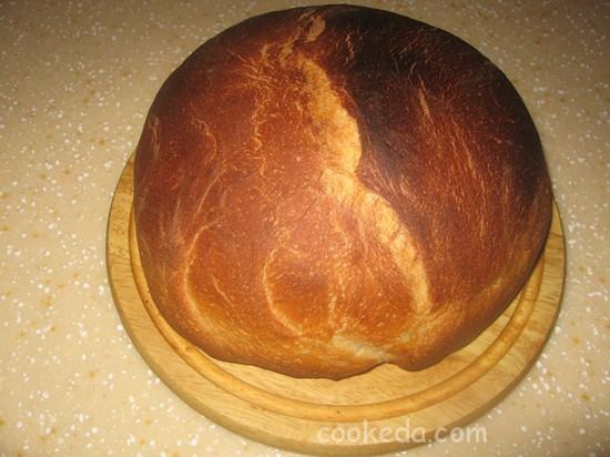 Хлеб из постного теста-09
