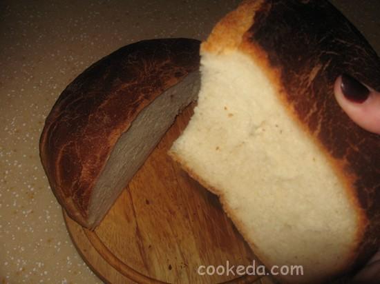 Хлеб из постного теста-10