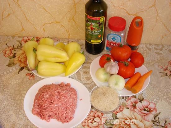 Болгарский перец с фаршем и рисом-02