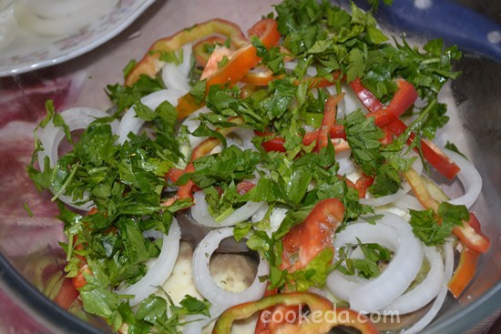 Салат с баклажанами-10