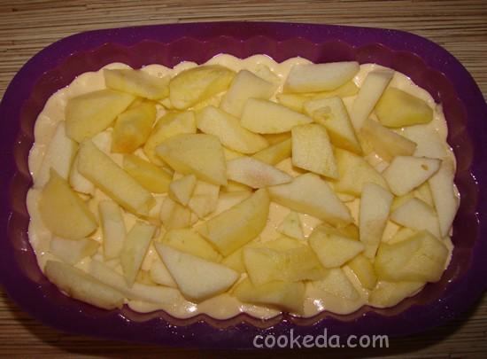 Творожно-яблочный пирог-09