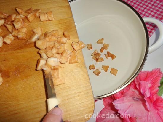 Яблочно-грушевое варенье с пряной корицей-05