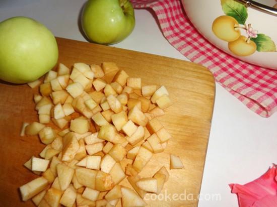 Яблочно-грушевое варенье с пряной корицей-06