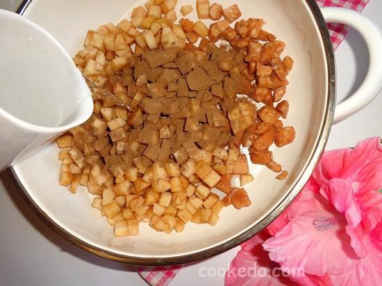 Яблочно-грушевое варенье с пряной корицей-10